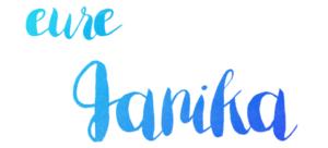 Janika Zeilenwanderer Signatur