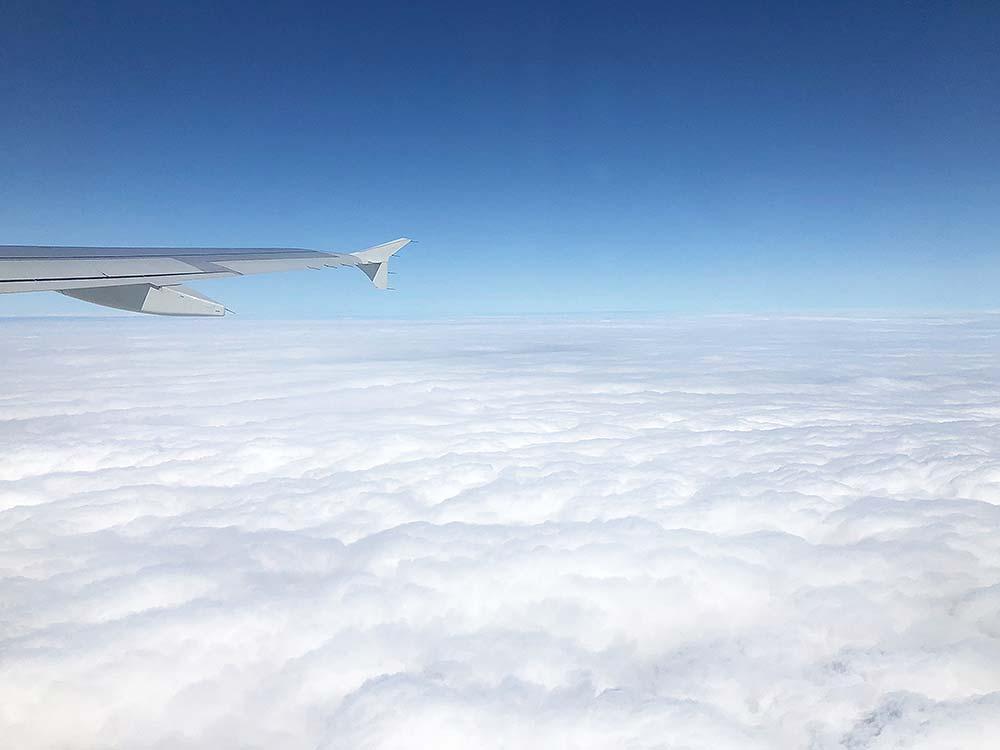 wolken-flug