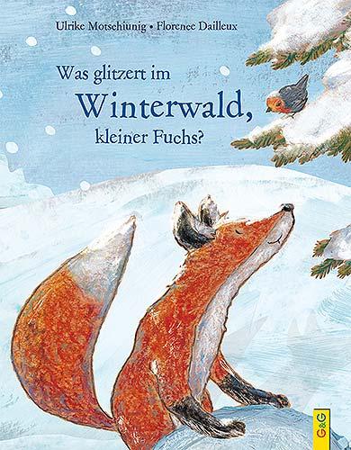 glitzert winterwald fuchs gg